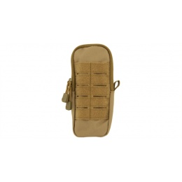 Lancer Tactical Airsoft Enclosed Magazine Pouch - TAN