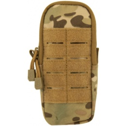 Lancer Tactical Airsoft Enclosed Magazine Pouch - CAMO