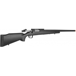 Double Eagle M61 Spring Bolt Action Airsoft Sniper Rifle - BLACK