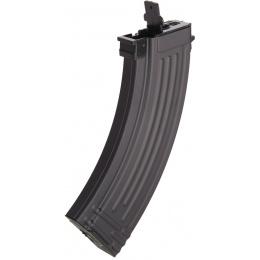 Lancer Tactical Airsoft Full Metal AK-47 AEG [w/ Battery & Charger] - BLACK/WOOD