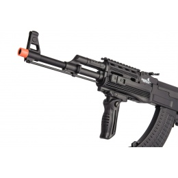 Lancer Tactical Airsoft Full Metal AK-47 AEG w/ LE Stock [w/ Battery & Charger] - BLACK