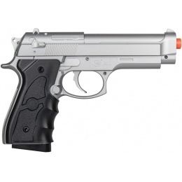 UK Arms G52R Airsoft Spring Powered Pistol - SILVER