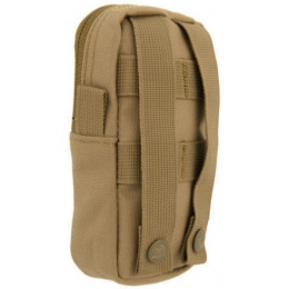 Lancer Tactical Small Enclosed M4 EMT Utility Pouch - TAN