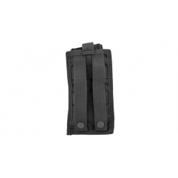 Lancer Tactical 1000D Nylon Single MOLLE Pouch - BLACK