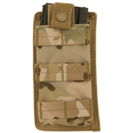Lancer Tactical 1000D Nylon Single MOLLE POUCH - CAMO