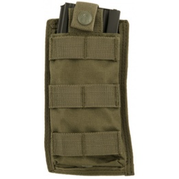 Lancer Tactical 1000D Nylon Single MOLLE POUCH - OLIVE DRAB