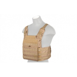 Lancer Tactical Nylon Speed Attack Tactical Vest (Khaki)