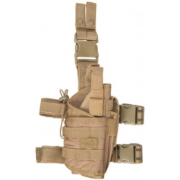 Lancer Tactical 600D Nylon Tornado Drop Leg Holster - COYOTE BROWN