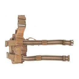 Lancer Tactical 600D Nylon Tornado Drop Leg Holster - COYOTE BROWN