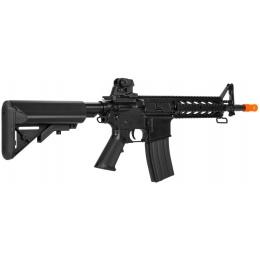 Lancer Tactical Airsoft LT-23 CQB M4 Polymer AEG Rifle - BLACK