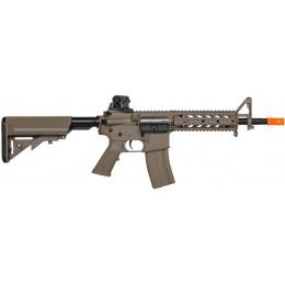 Lancer Tactical Airsoft LT-23 CQB M4 AEG Rifle - DARK EARTH