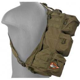 Lancer Tactical Airsoft Utility Go Pack Shoulder Bag - OLIVE DRAB