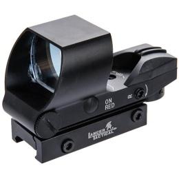 Lancer Tactical 4 Director Reflex Sight w/ Button Control - BLACK