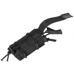 Lancer Tactical Single Pistol Magazine Pouch - BLACK