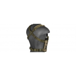 Lancer Tactical Chest Rig w/ Concealed Magazine Pouch - AT-FG