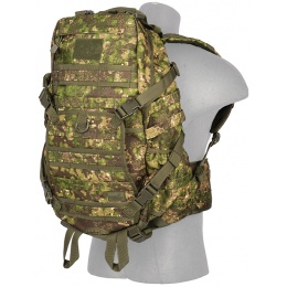 Lancer Tactical 600D Polyester Fast Pack EDC Backpack - PC GREEN