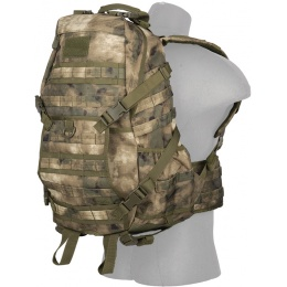 Lancer Tactical 600D Polyester Fast Pack EDC Backpack - AT-FG