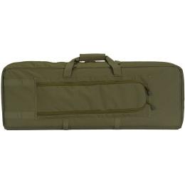 Lancer Tactical Double Gun Bag w/ Lockable Zipper - OD GREEN