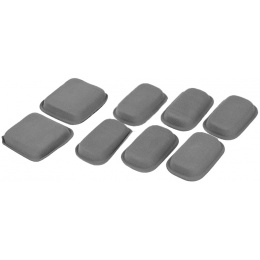 Lancer Tactical Airsoft 8pc Protective CP Helmet Pad Set - FG