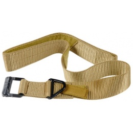 Lancer Tactical Airsoft Riggers Combat Belt XL - TAN
