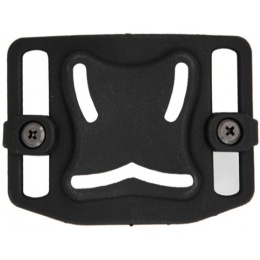 Lancer Tactical Airsoft Belt MOLLE Backplane - BLACK