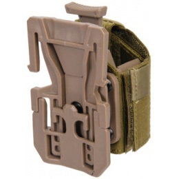 Lancer Tactical Airsoft Universal MOLLE Holster - TAN