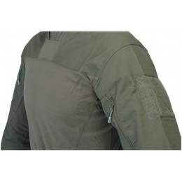 Lancer Tactical Airsoft TLS Half Shell Shirt - OD GREEN