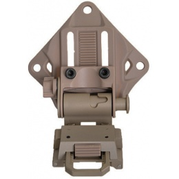 Lancer Tactical Airsoft CNC NVG Mount - DARK EARTH