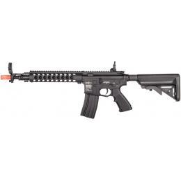 Lancer Tactical Metal M4 Modular RIS MOD2 Airsoft AEG Rifle -BLACK
