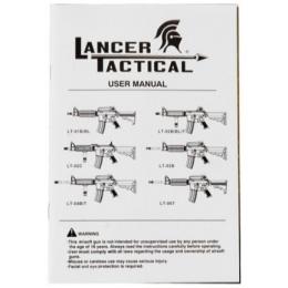 Lancer Tactical Airsoft LT-24 CQB M4 AEG w/ Free Float Rail - BLACK