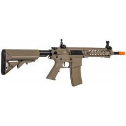 Lancer Tactical Airsoft LT-24 CQB M4 AEG w/ Free Float Rail - DARK EARTH