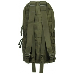 Lancer Tactical Airsoft MOLLE Hydration Carrier Backpack - OD