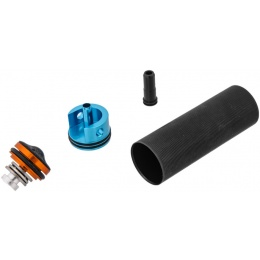 Lonex Enhanced Cyliner Set for M16/A2 Airsoft AEG w/ Mushroom Piston