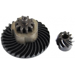 Lonex Metal Airsoft Sprial Bevel and Helical Pinion Internal Gear Set