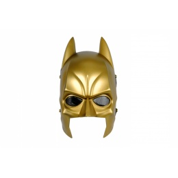 Airsoft Dark Hero Wire Mesh Full Face Mask - GOLD
