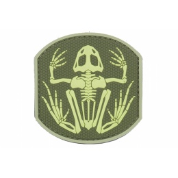 Airsoft Frog Skeleton Patch - TAN / OD GREEN