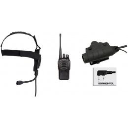 zBowman Elite II Headset & U94 PTT w/ Baofeng 888S Radio - FOLIAGE