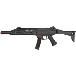 ASG CZ Scorpion EVO 3 A1 BET Carbine AEG Airsoft Rifle - BLACK