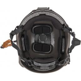 Lancer Tactical Airsoft Ballistic MH Type Helmet L/XL - DARK BRONZE