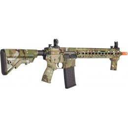 Lancer Tactical Bravo MK4 SMR Black Jack AEG Airsoft Rifle - CAMO