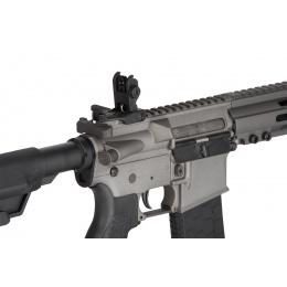 Lancer Tactical Bravo MK1 SMR Black Jack Airsoft Rifle - MIDNIGHT GRAY