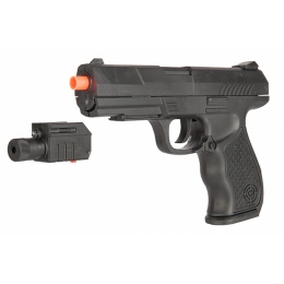 UK Arms P299AF Polymer Spring Airsoft Pistol - BLACK