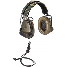 Z-Tactical Comtac II Headset Version IPSC - DARK EARTH