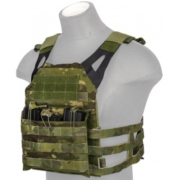 AMA Airsoft Scout Jumper Tactical Vest - CAMO TROPIC