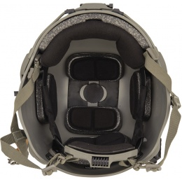 Lancer Tactical RSFR Sentry XP Airsoft Helmet - FOLIAGE GREEN (M/L)