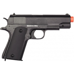 Cyma Airsoft Spring Polymer Compact Pistol - BLACK