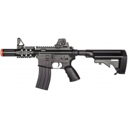 WellFire Airsoft Hybrid M4 CQB AEG Rifle - BLACK