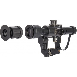 AMP Tactical 4x26 SVD Airsoft Dragunov Scope w/ PSO-1 Reticle - BLACK