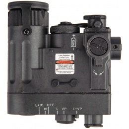 Element Multi-Function Airsoft PEQ Laser / IR Device - BLACK