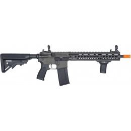 Lancer Tactical Airsoft M4 SMR AEG Black Jack Carbine - BLACK